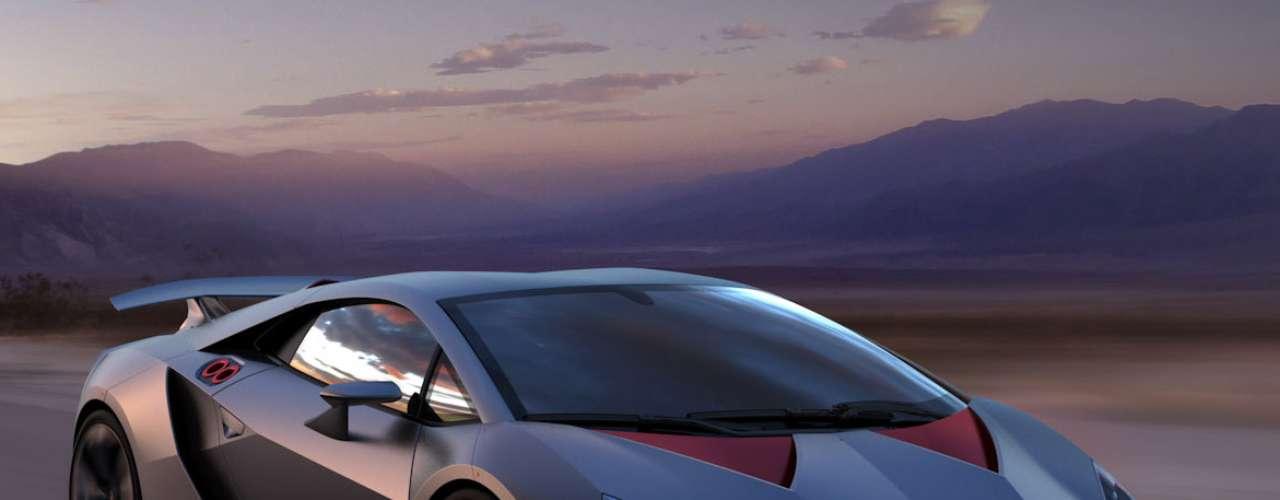 Con una construcción extremadamente ligera gracias a la avanzada tecnología de fibra de carbono, el Lamborghini Sesto Elemento tiene un peso total en vacío de sólo 2,202 libras (999 kilogramos).