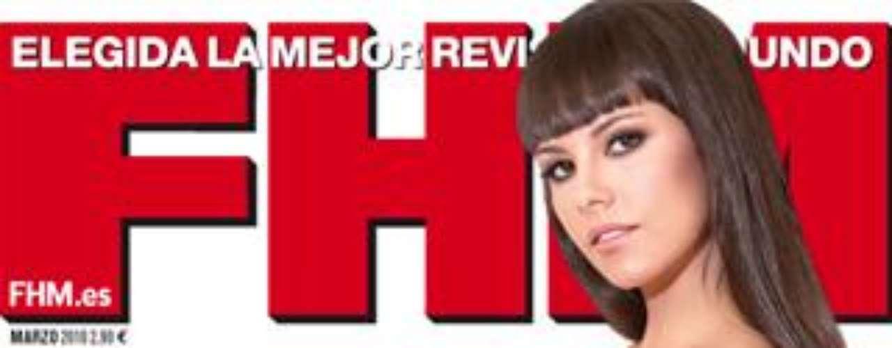 'La chica más sexy de la TV' fue portada de 'FHM' del mes de marzo.