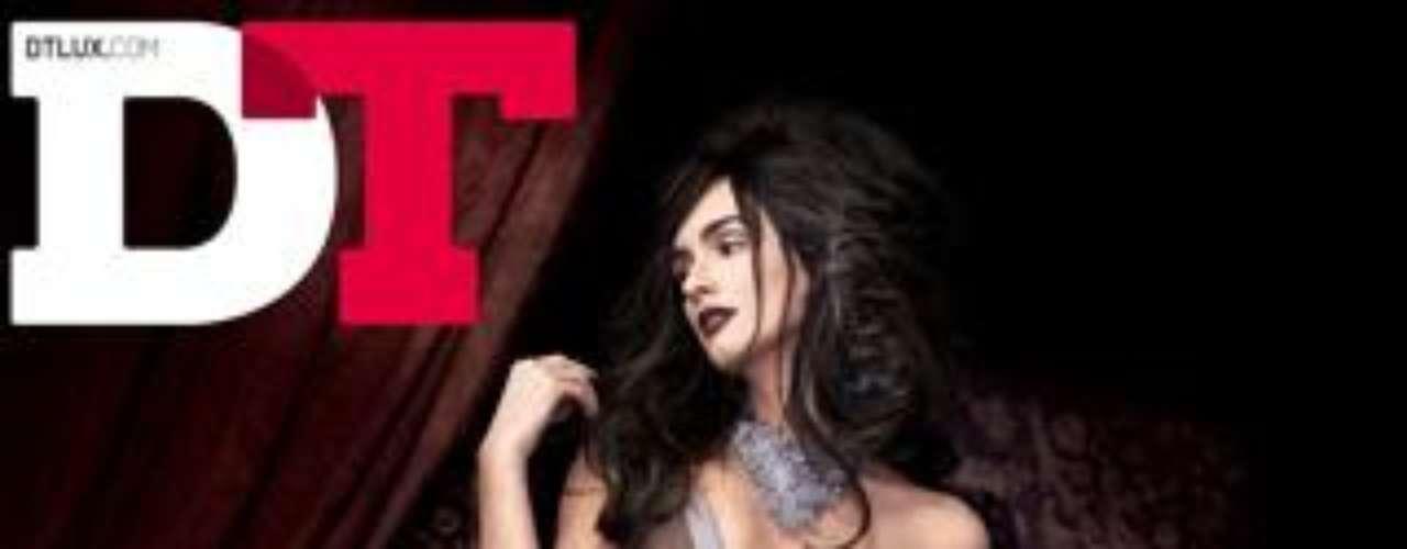 Paz Vega protagonizaba la portada del mes de diciembre de la revista 'DT'.
