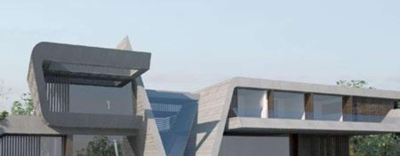 Raúl González tiene también su casa en La Finca. La suya también ha sido diseñada por el arquitecto de los famosos.