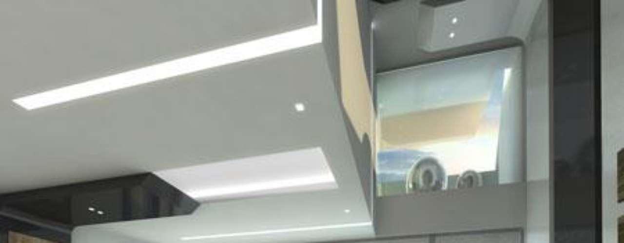 Imagen del interior de la casa que se va a hacer Madonna en Dubai.