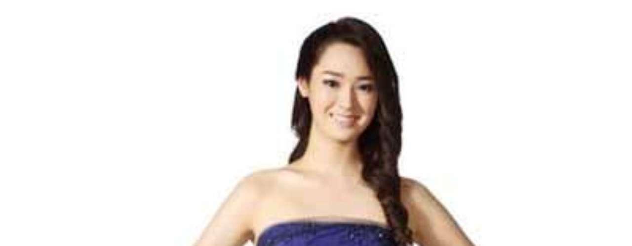 Se llama Jung, tiene 19 años de edad y mide 1,71 metros. Jung es la hija delpresidente de la Cámara Coreana de Comercio de Shanghai, Han Jung-young.