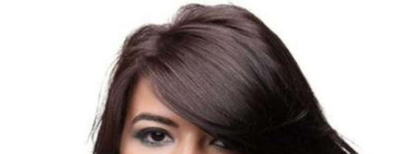 Se llama Sarah El-Khouly y es una modelo de Egipto Emiratos Árabes Unido, ganadora del certamen Miss Universo Egipto 2011.