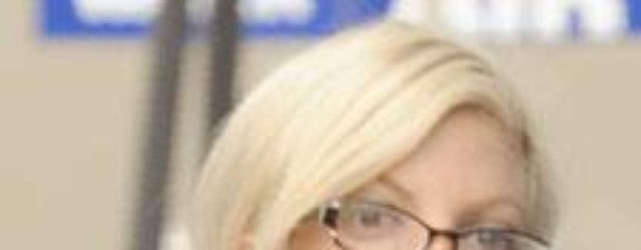 A Tori Spelling parece que se le ha acabado la paciencia, a juzgar por su gesto.