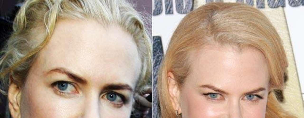 Nadie duda de que Nicole Kidman sea una de las actrices más bellas de Hollywood, pero a veces alguna foto le puede jugar una pasada hasta a las chicas más lindas