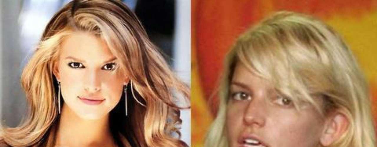 Jessica Simpson. Sí que se nota una gran diferencia entre \