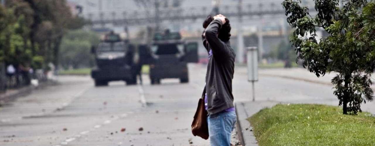 Tras los fuertes disturbios que se presentan en la  Universidad Nacional, las autoridades del campus estudiantil autorizaron la entrada de 50 miembros del Esmad.