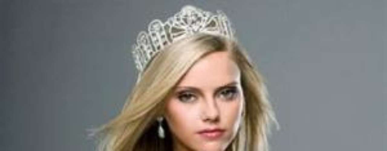 Lindsey Evans, Miss Luisiana Teen 2008. La joven perdió su corona después de conocerse que fue detenida al salir de un establecimiento sin pagar la cuenta y por posesión de marihuana. En el 2009 fue elegida como Playboy Playmate del Mes de octubre.