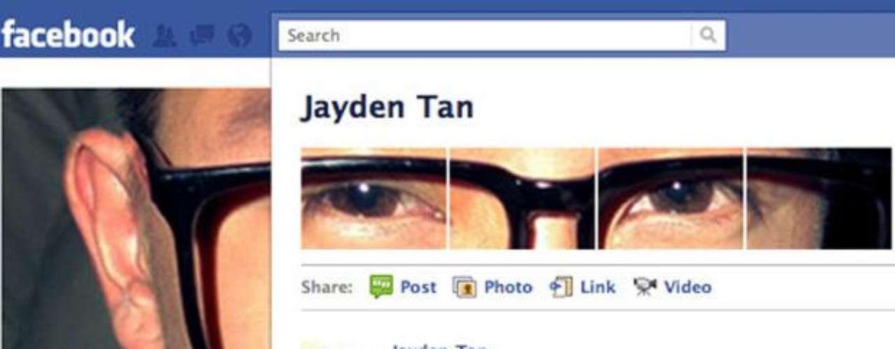 Jayden Tan toma la cara. Va un paso más allá mediante la adición de imágenes para que el impacto sea mayor.