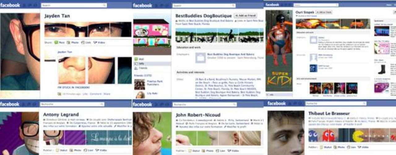 En la mayoría de los casos, lo más común en los perfiles de Facebook es observar fotografías personales o grupales. Sin embargo, recientemente, los usuarios de esta red social están mostrando un poco de creatividad al tomar ventaja de la nueva página de diseño y de foto de perfil.