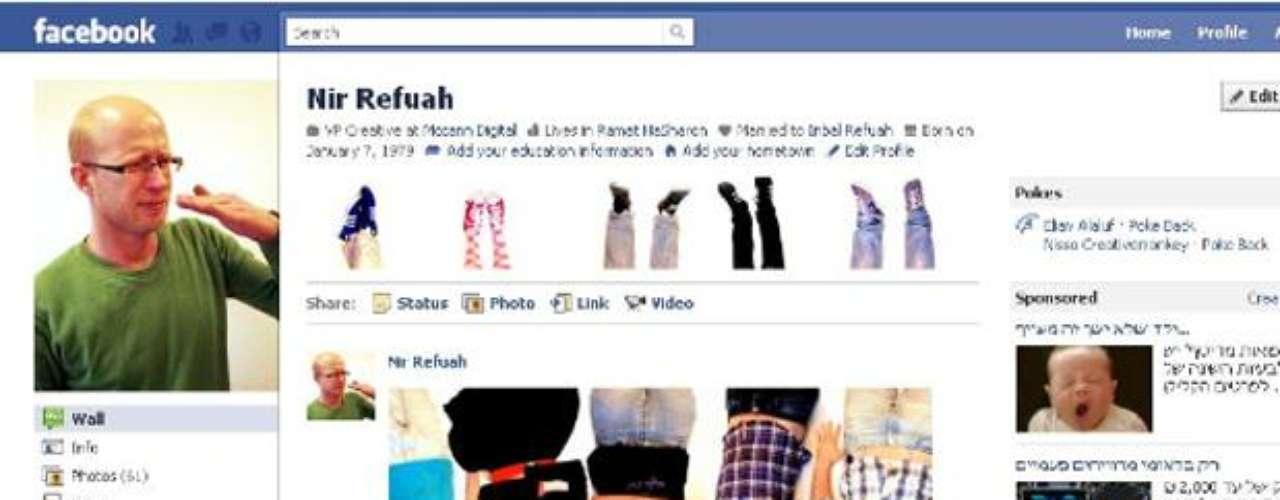 Nic Refauh es vicepresidente de creativos de McCann Digital. Sin duda, aplicó su capacidad creativa en su perfil de Facebook.