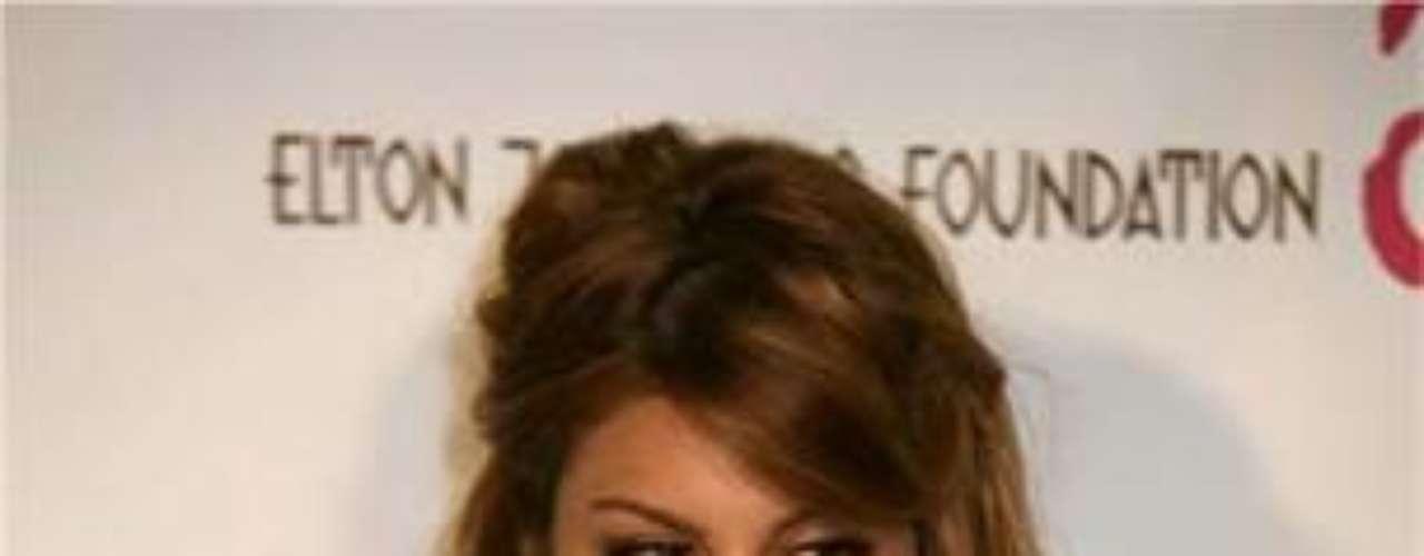 La actriz tiene tatuado un ojo egipcio en la parte superior de su hombro izquierdo