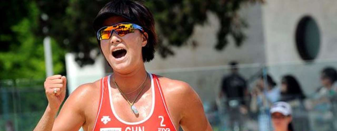 Las mejores imágenes del Campeonato Mundial de Vóleibol de Playa Femenino que se disputa en Italia
