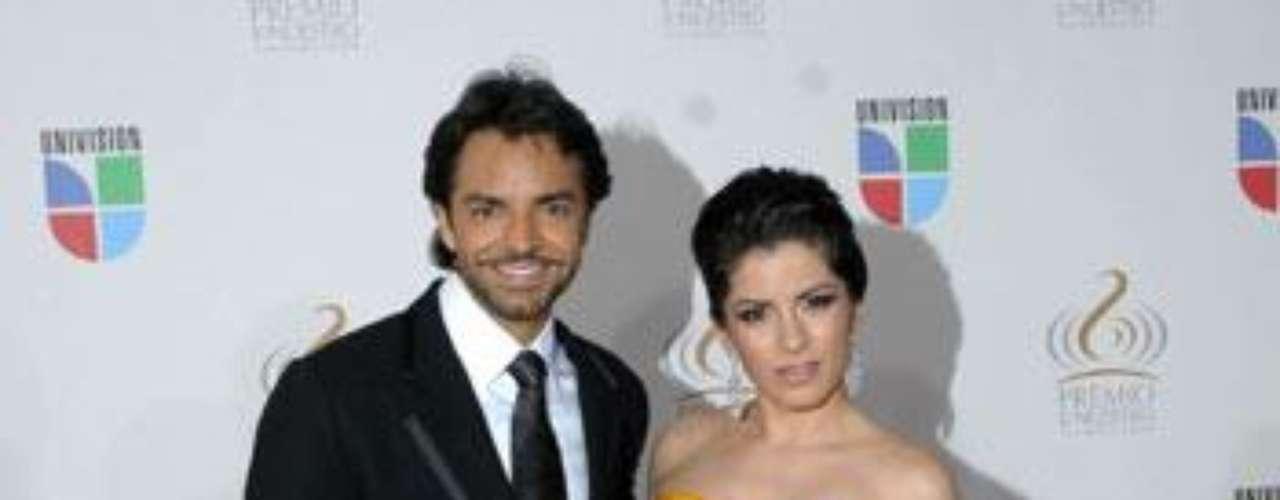 Pareja: Eugenio Derbez y Alessandra Rosaldo.