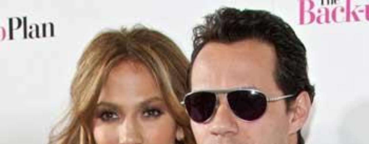 Matrimonio: Marc Anthony y Jennifer Lopez.