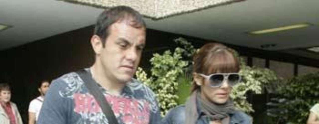 Ex pareja: Cuauhtémoc Blanco y Rossana Nájera.