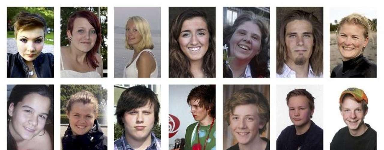 Las autoridades de Noruega dieron a conocer los nombres de las víctimas de los atentados en Oslo y Utoya.