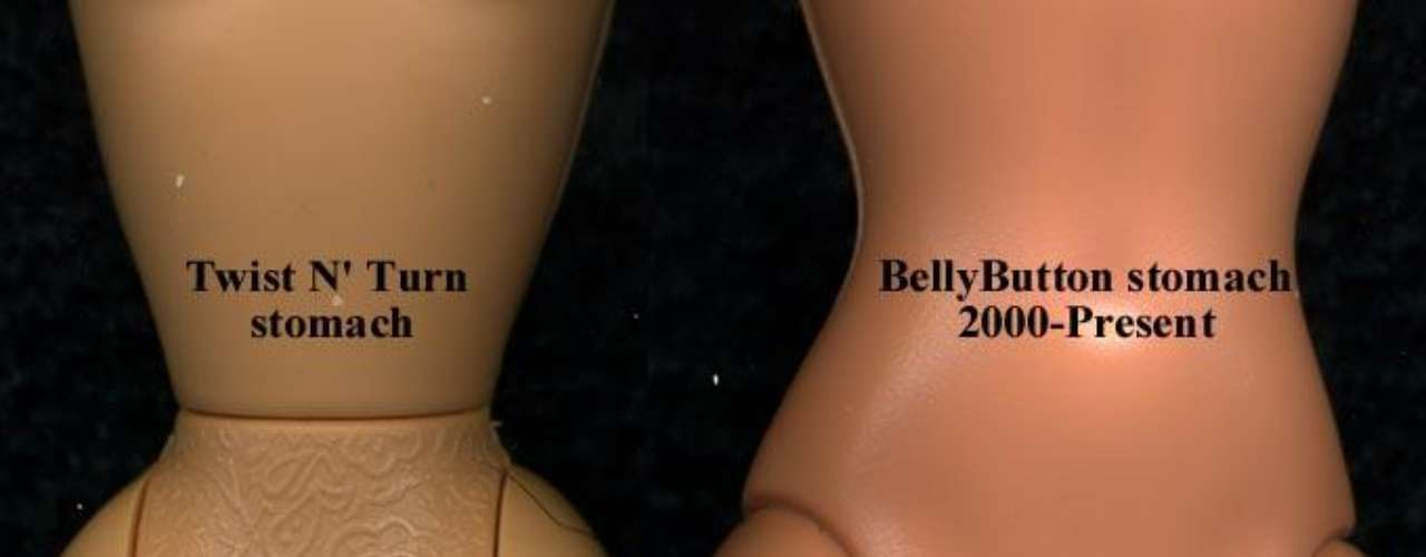 Desde su lanzamiento, el 9 de marzo del 1959, Barbie ha sido cuestionada por su delgada figura, que algunos consideran anoréxica.  En 1997, como respuesta a la queja de la gente, la cintura de Barbie fue 'ensanchada' apenas un poquito.