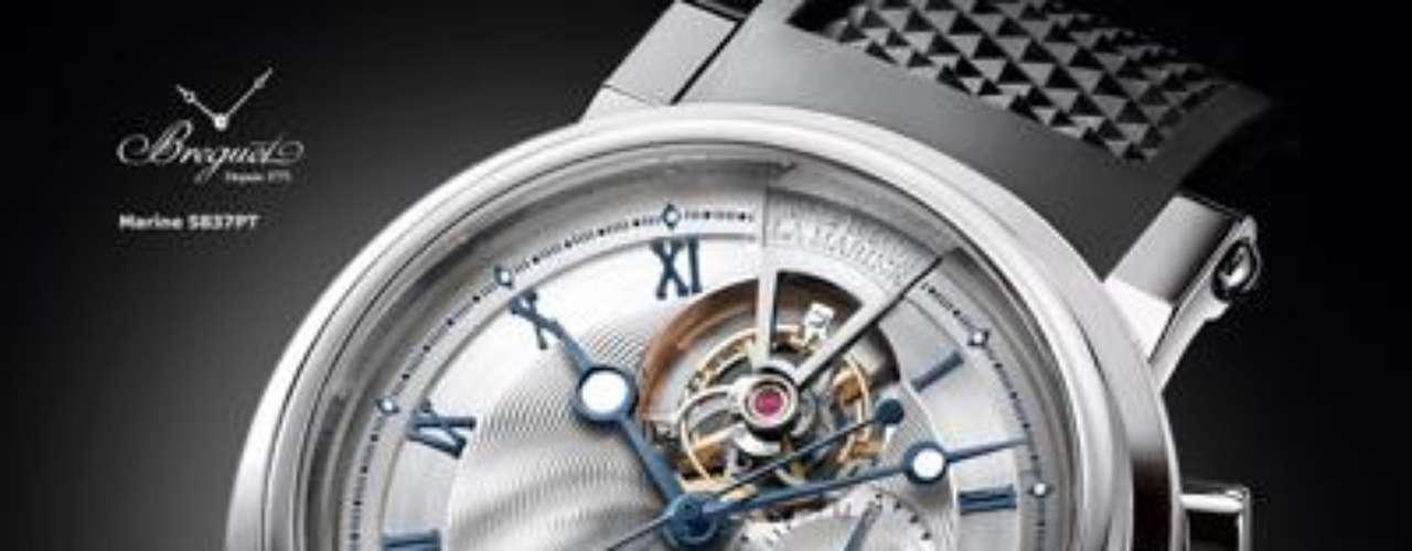 Breguet. Elabora relojes de lujo y alta joyería suiza, fundada por Abraham Louis Breguet en París en 1775. Pionera en el uso de tecnologías mecánicas aplicadas a la fabricación de relojes, inventora del mecanismo de tourbillon, es uno de los pocos supervivientes en relojería mecánica o tradicional.
