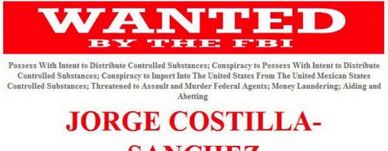 Jorge Eduardo Costilla Sánchez. 'El Coss' es uno de los capos del 'Cártel del Golfo' y en su momento fue la mano derecha de Osiel Cárdenas Guillén. En EE.UU. tiene 12 cargos en su contra sólo por tráfico de drogas.