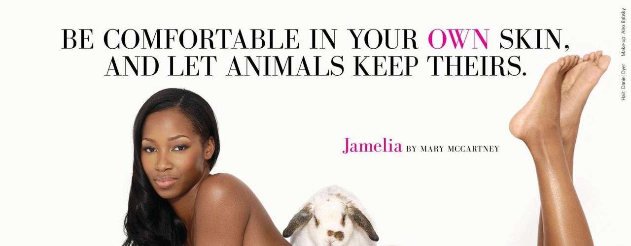 La cantante británica Jamelia en la campaña: \