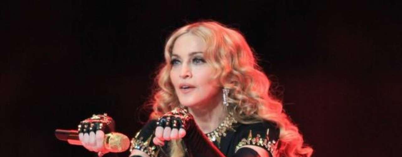 Madonna como siempre, una garantía de espectáculo