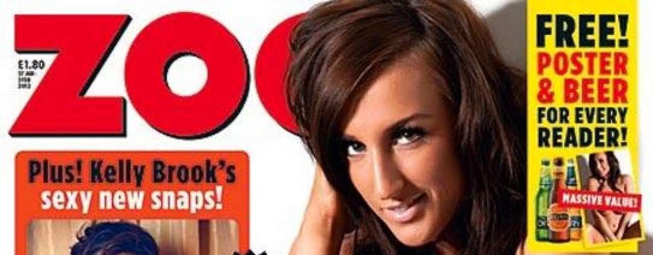 Los lectores de Zoo Magazine eligieron a Stacey Pool como la número 10 del ranking de famosas con el mejor trasero del mundo. La modelo ha sido portada de la revista y ha mostrado su atractivo sin pudor para las páginas de la publicación.