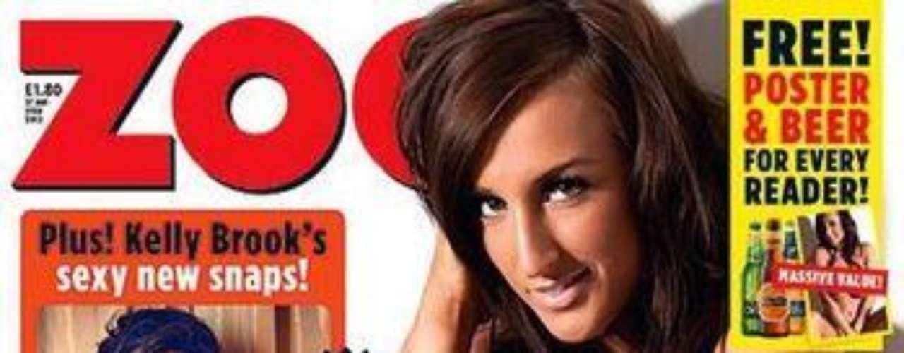 Los lectores de 'Zoo Magazine' eligieron a Stacey Pool como la número 10 del ranking de famosas con la mejor cola del mundo. La modelo ha sido portada de la revista y ha mostrado su atractivo sin pudor para las páginas de la publicación.