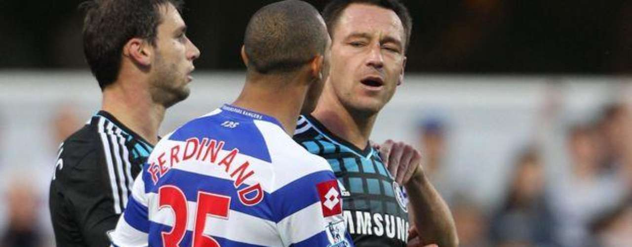 John Terry was accused of racial insults against Queens Park Rangers defender Anton Ferdinand during a Premier League matchin 2011. The FA banned Terry for 4 matches.