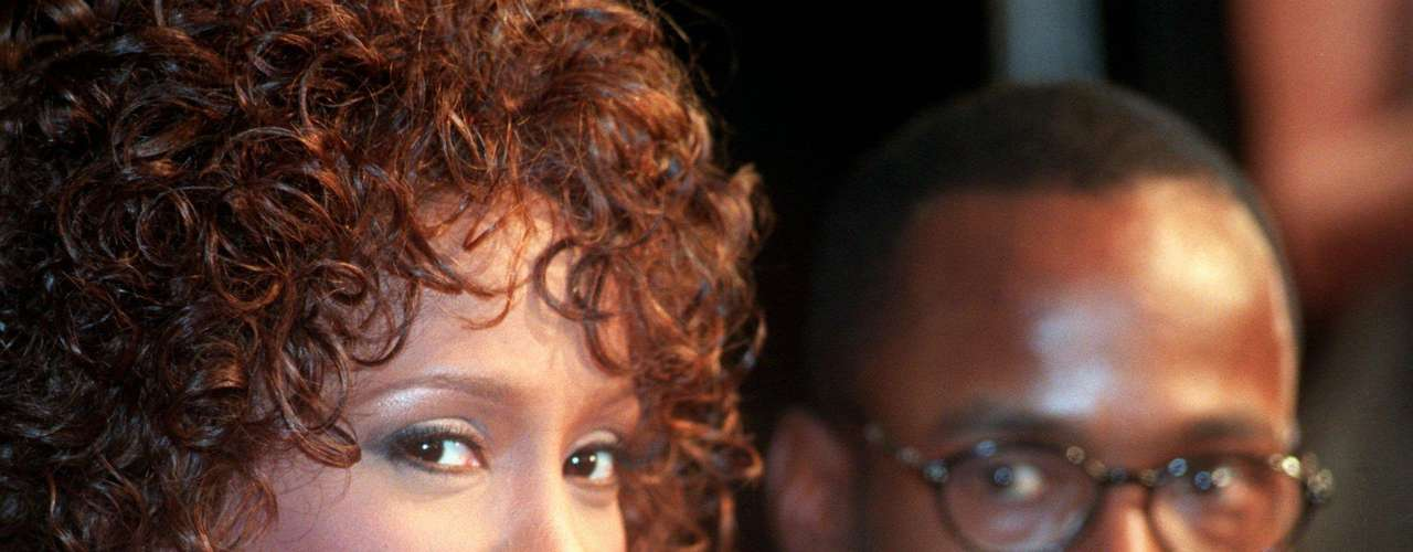 Oct. 13, 1997 - Whitney Houston junto a Bobby Brown