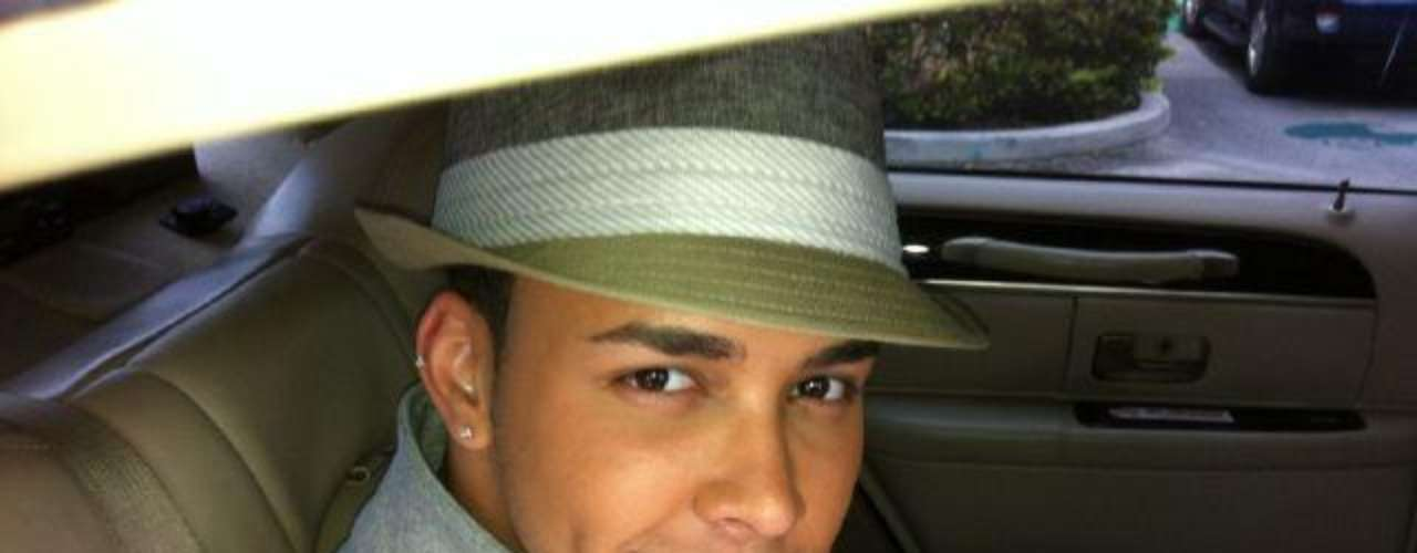 Another photo to prove that Prince Royce knows how to rock a hat.