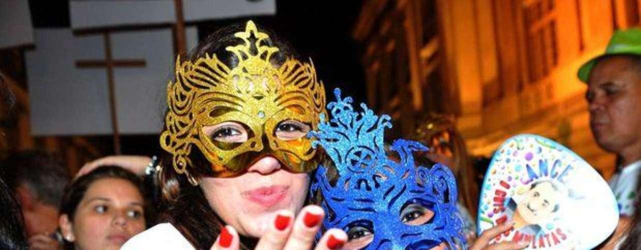 Las máscaras de las mujeres más lindas
