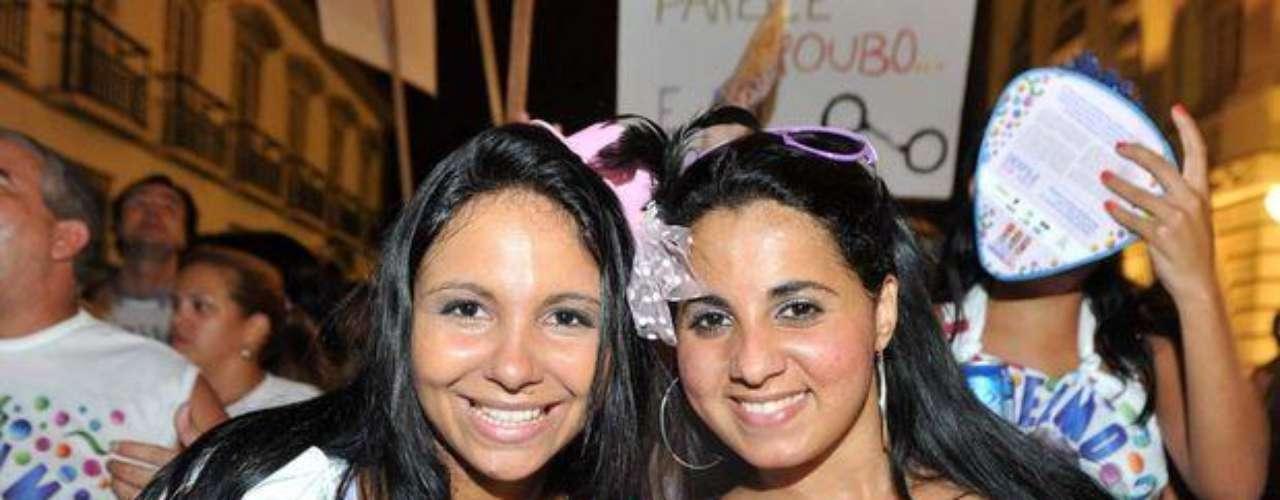 Bellas mujeres llenaron las calles del Carnaval de Rio