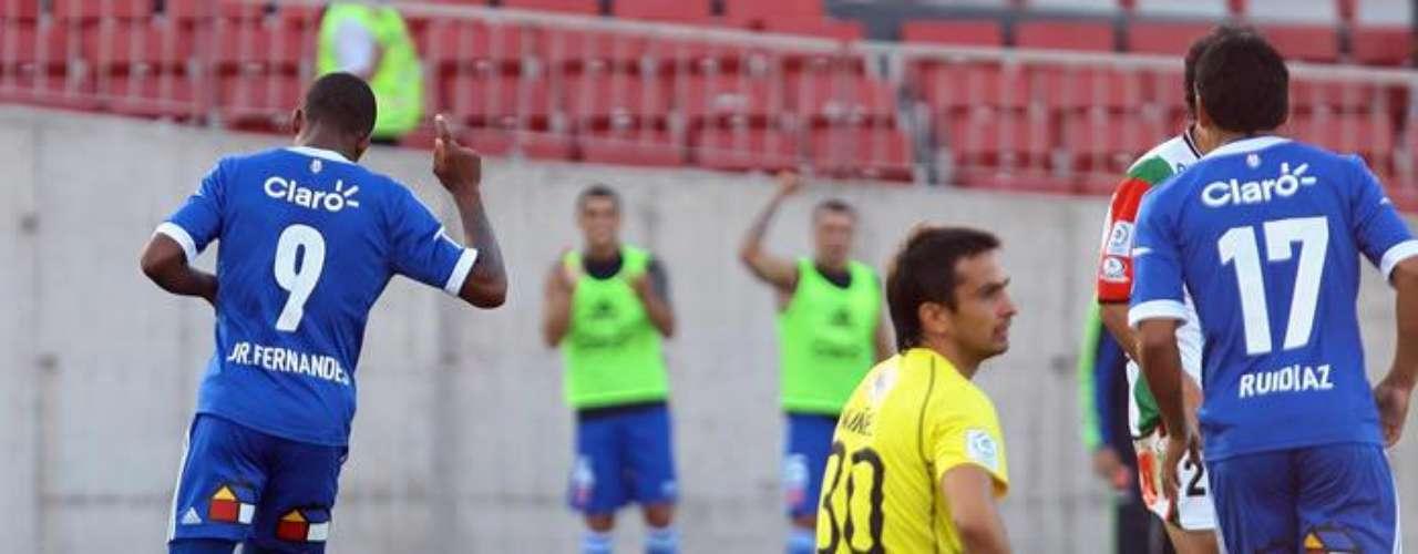 Junior Fernandes, Albert Acevedo y Raúl Ruidíaz anotaron para la U. de Chile, mientras que el descuento lo puso Nicolás Canales.