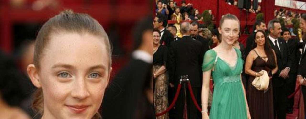A los 13 años Saoirse Ronan ganó su primera nominación a un Oscar por su rol en la cintra dramática 'Atonement'.