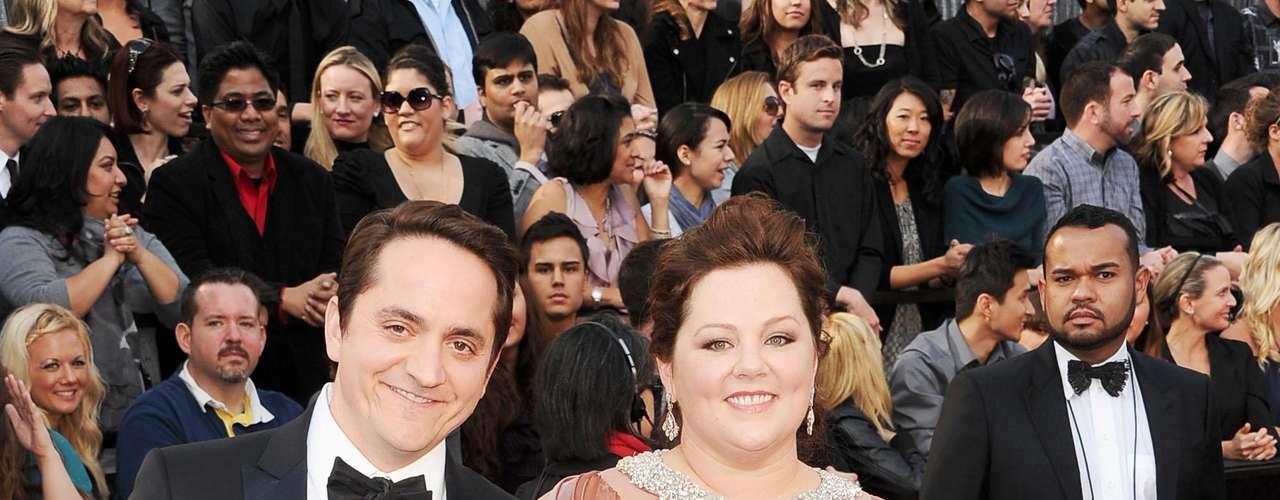 Melissa McCarthy junto a Ben Falcone