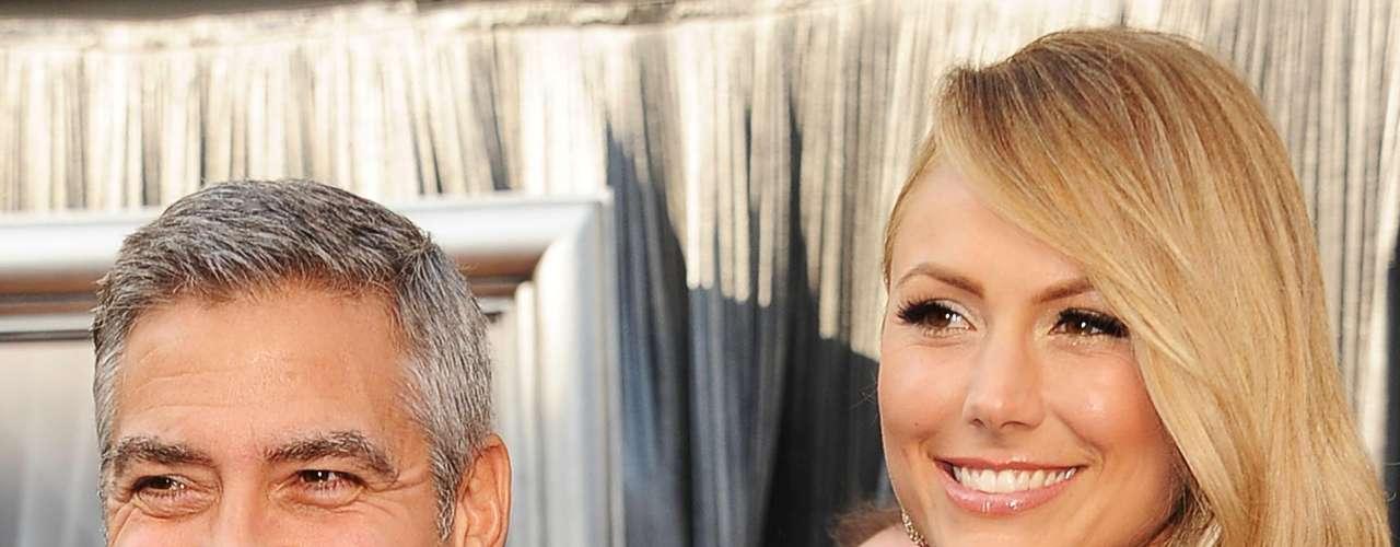 George Clooney y Stacy Kiebler