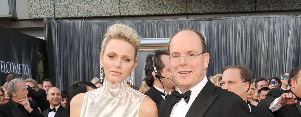 Princesa Charlene y Principe Albert II de Monaco
