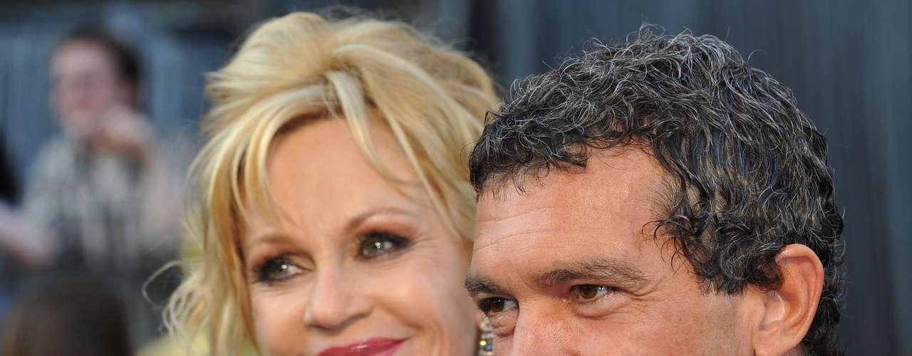 Melanie Griffith con Antonio Banderas