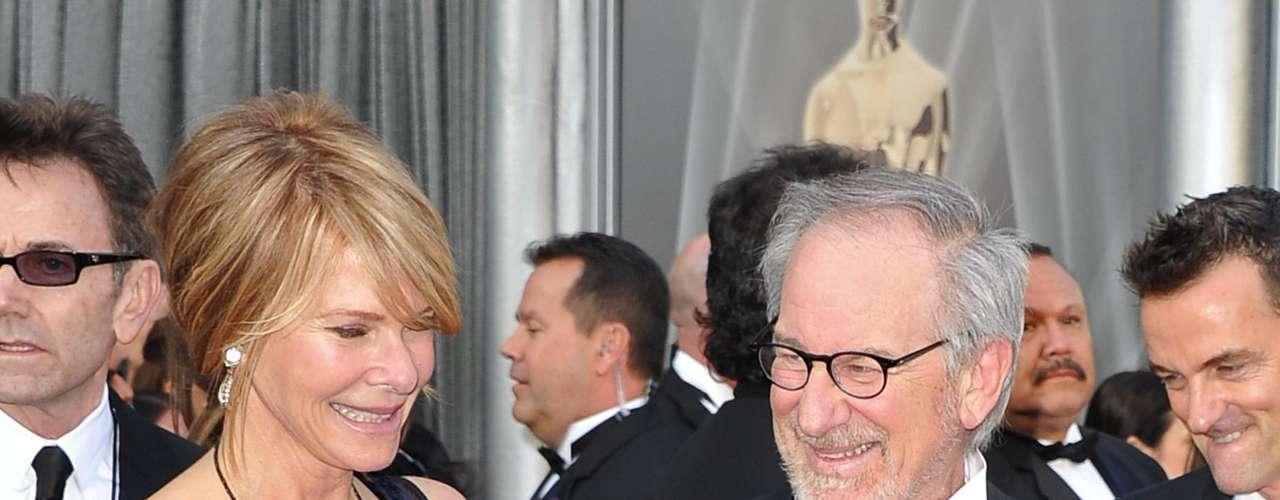 Spielberg y Kate Capshaw