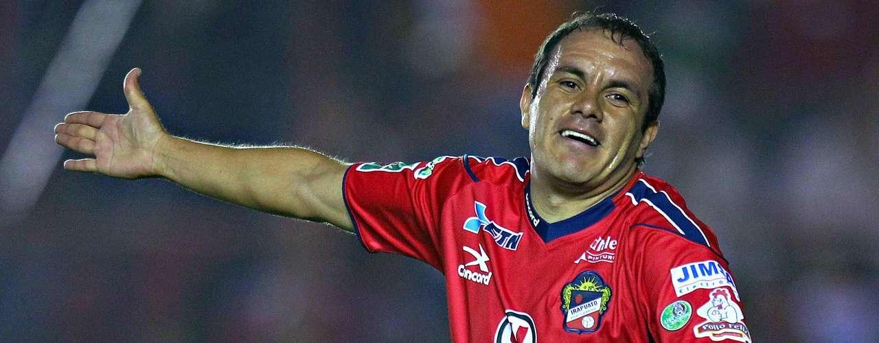 Cuauhtémoc Blanco estuvo con Irapuato del 2010 al 2011