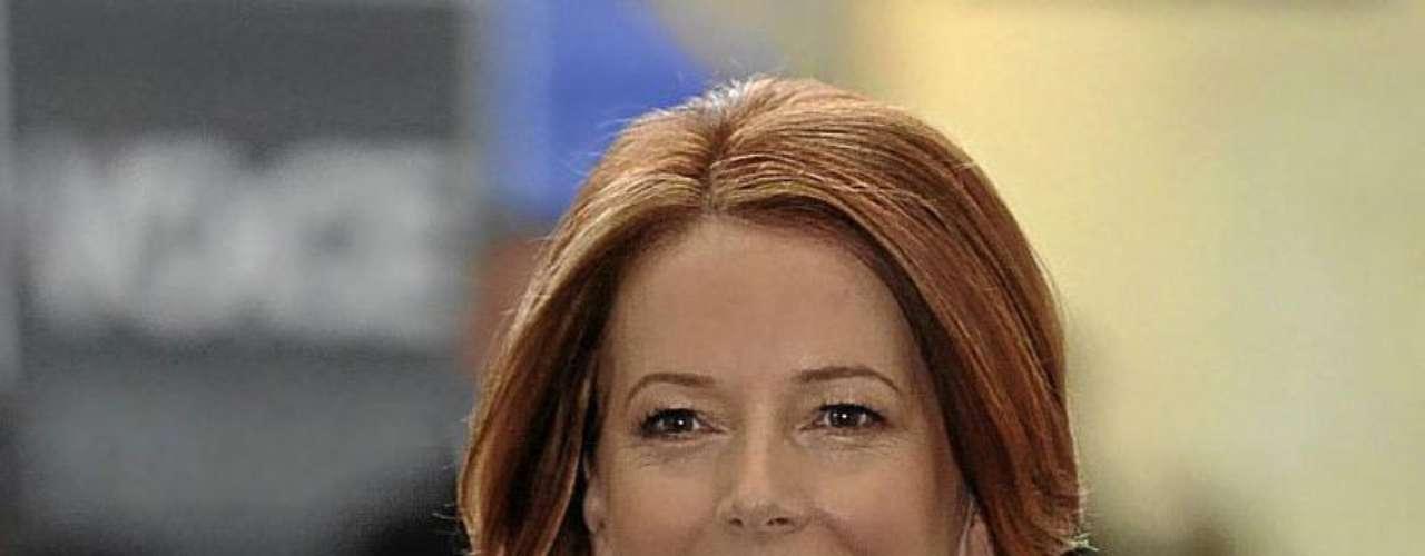 Julia Gillard: Actual primer ministro de Australia, el 24 de junio de 2010 se convirtió en la primera mujer de la historia del País en ocupar ese cargo.
