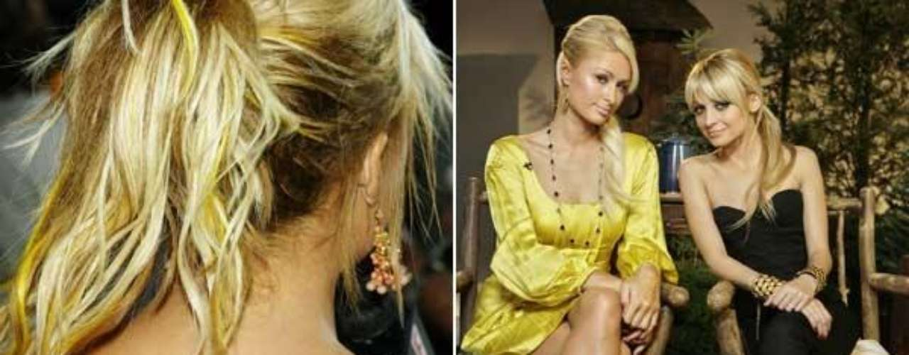 Nicole Richie lleva tatuado un rosario en su tobillo izquierdo y además tiene unas simpáticas y coloridas alitas de ángel en la espalda.