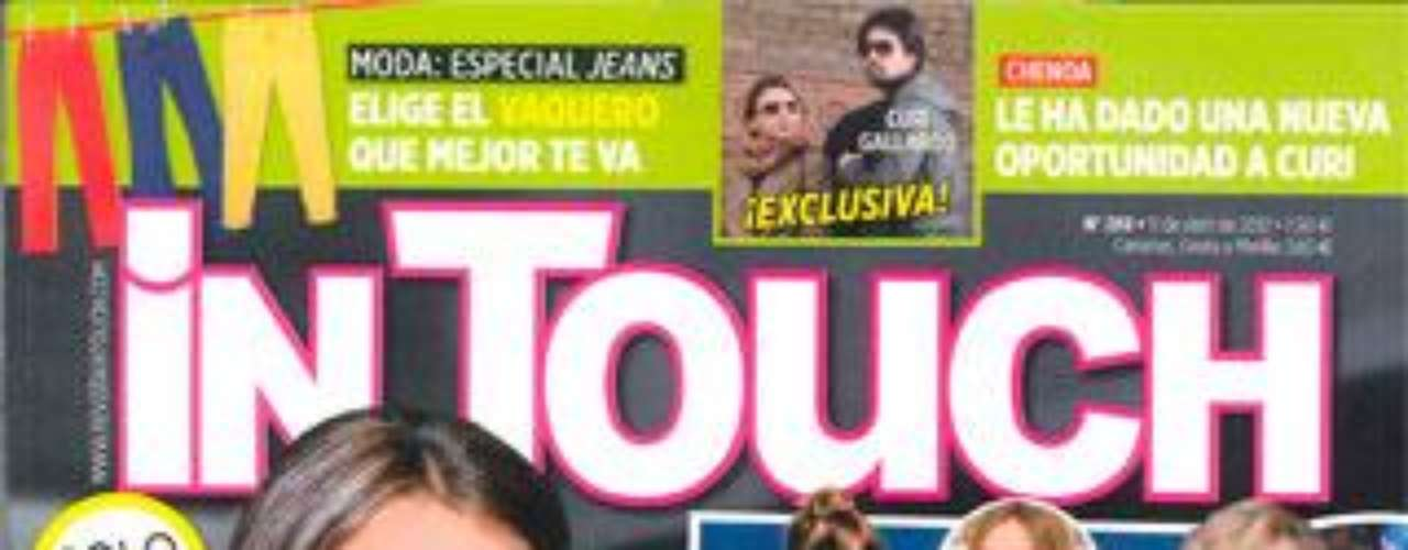 La revista In Touch publica, en exclusiva, las fotos que confirman que Chenoa ha vuelto con Curi Gallardo