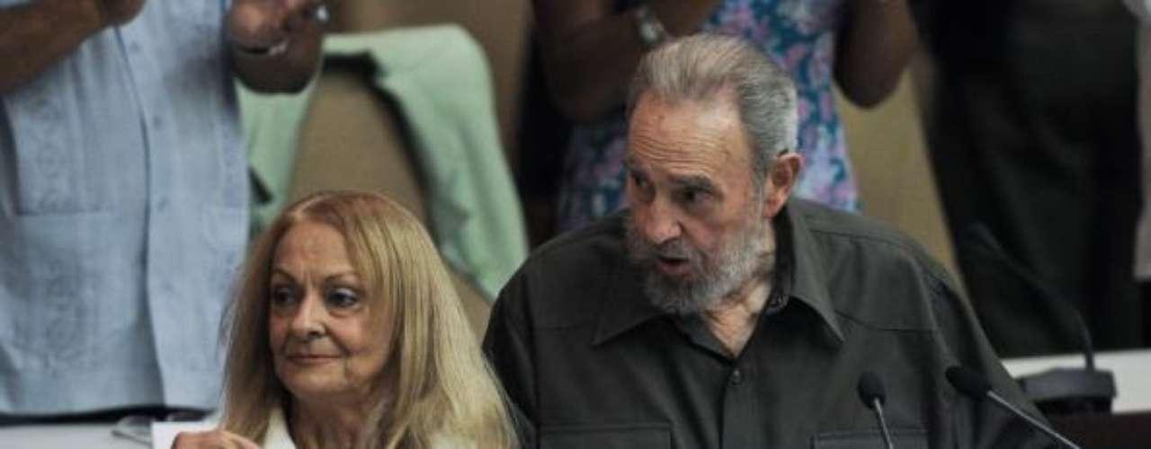 Dalia Soto del Valle, actual esposa de Fidel.