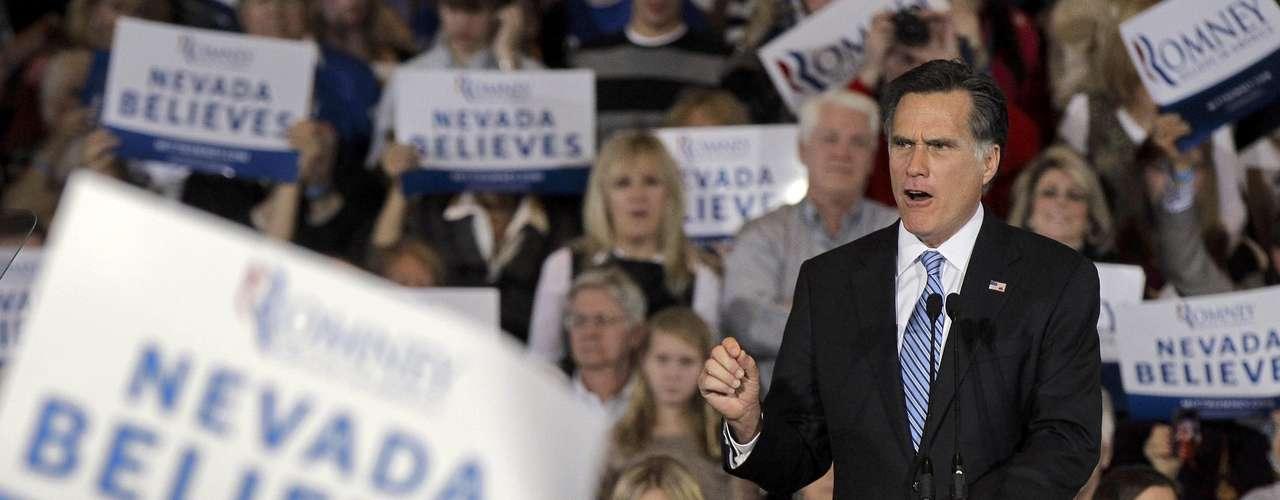 Nevada: Romney ganó con el 59% de los votos, Gingrich obtuvo el 21% y Paul el 19%.