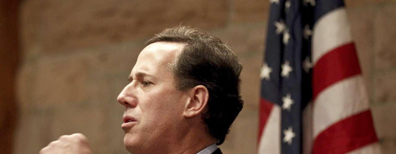 Colorado: Santorum ganó con el 40%, Romney obtuvo el 35% y Gingrich el 13%.