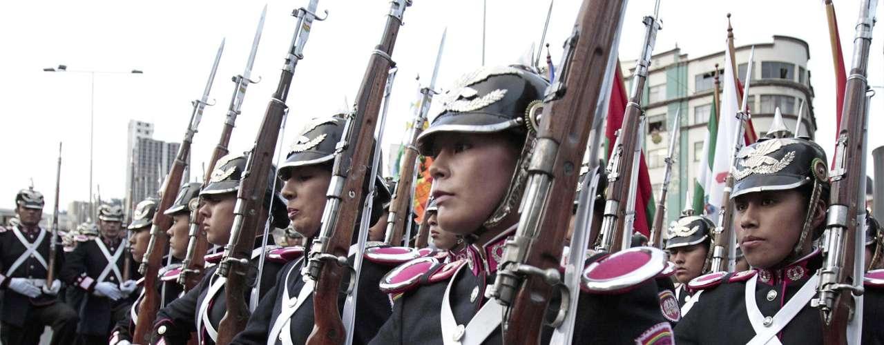 Con una marcha, hoy se conmemora en Bolivia \