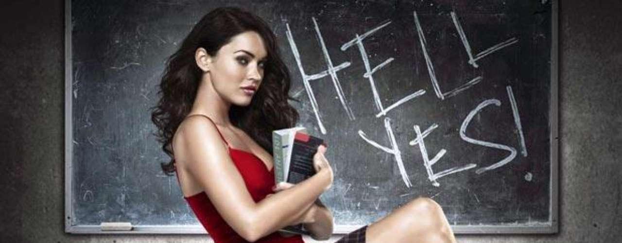 En su punto máximo de éxito, Megan Fox protagonizó la película 'Diabólica Tentación', al lado de Amanda Seyfried.