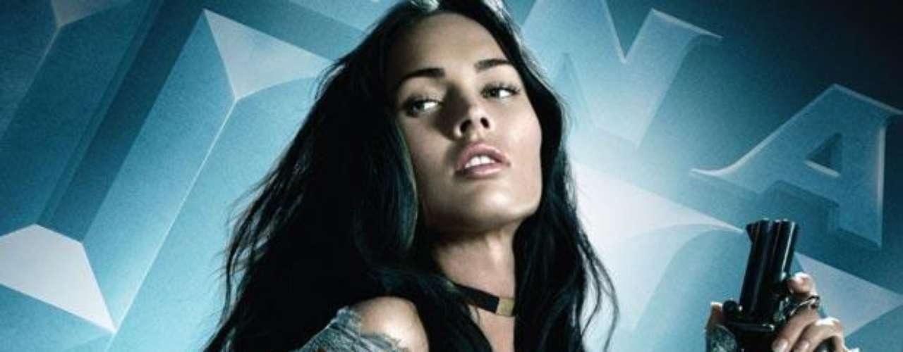 En 'Jonah Hex', Megan interpretó a una prostituta enamorada del fantasmal justiciero de cómic trasladado a la pantalla grande y cuyo actor era Josh Brolin.